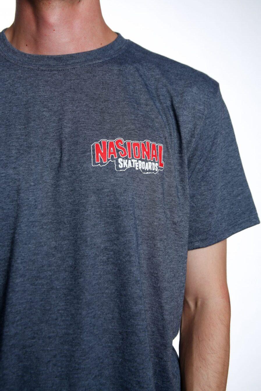 camiseta nasional skateboards